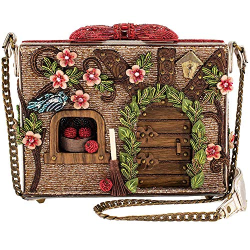 Mary Frances Disney Snow White Dwarf Cottage Crossbody Handbag Purse, Multi