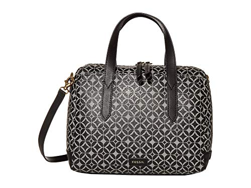 Fossil Hailey Satchel Black One Size