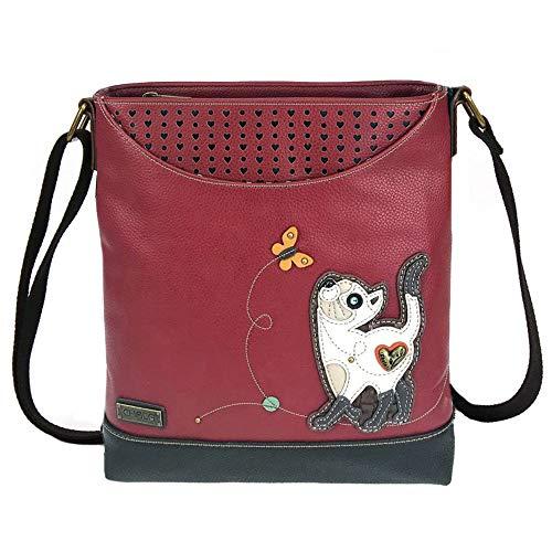 Chala Slim Cat Sweet Messenger Bag Purse, Cat lovers gift