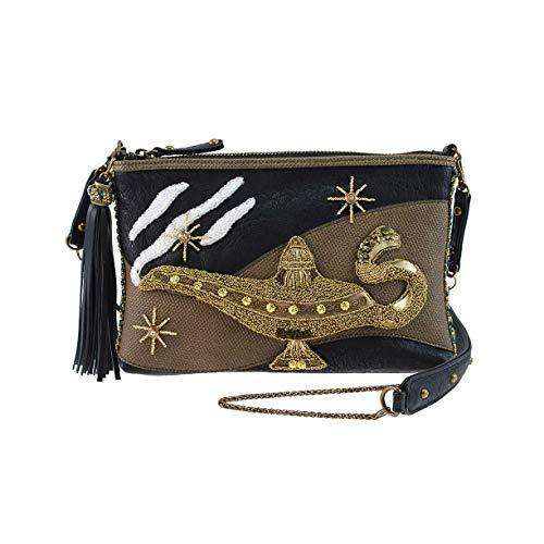 Mary Frances Disney Live Action Aladdin Genie Lamp Mini Handbag Purse, Gold