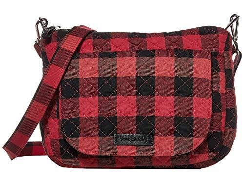 Vera Bradley Carson Mini Shoulder Bag Garnet Buffalo Check One Size