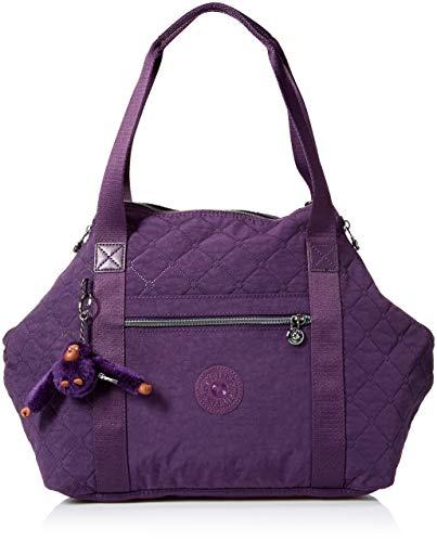 Kipling Womens Art Handbag, deep purple