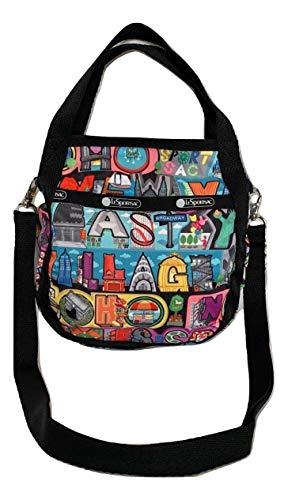 LeSportsac NYC – New York City, Exclusive, Small Jenni Convertible Crossbody & Top Handle Tote Handbag, Style 8056/Color K148