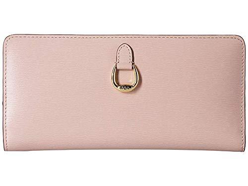 LAUREN Ralph Lauren Women's Snap Continental Wallet Mellow Pink One Size