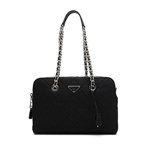 Prada Women's Black Tessuto Nylon Handbag 1BB903