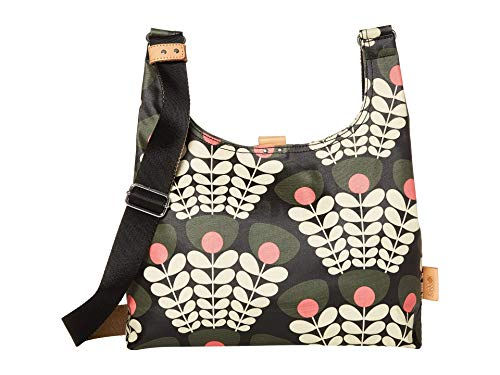 Orla Kiely Bunch of Stems Midi Sling Bag Forest One Size