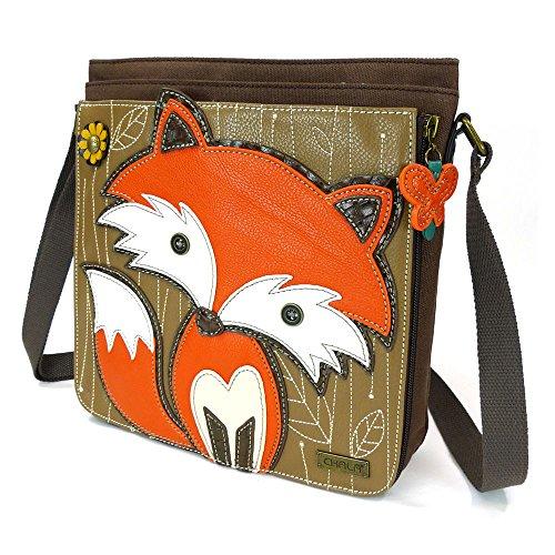 Chala Deluxe Messenger Bag – Fox Dark Brown