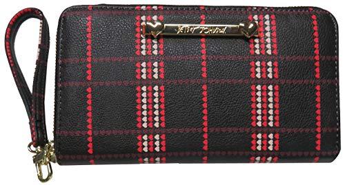 Betsey Johnson Women's Z/A Wristlet/Wallet Black/Multi