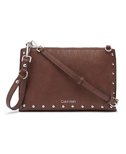 Calvin Klein Sonoma Key Item Novelty Crossbody, Walnut