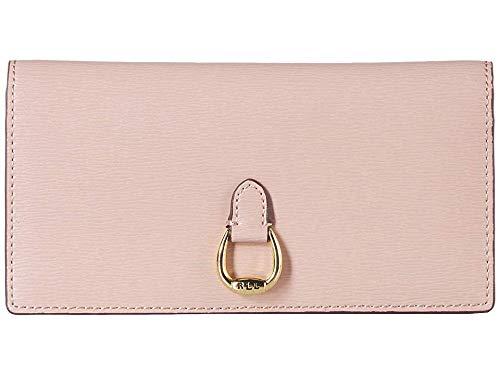 LAUREN Ralph Lauren Women's Slim Wallet Mellow Pink One Size