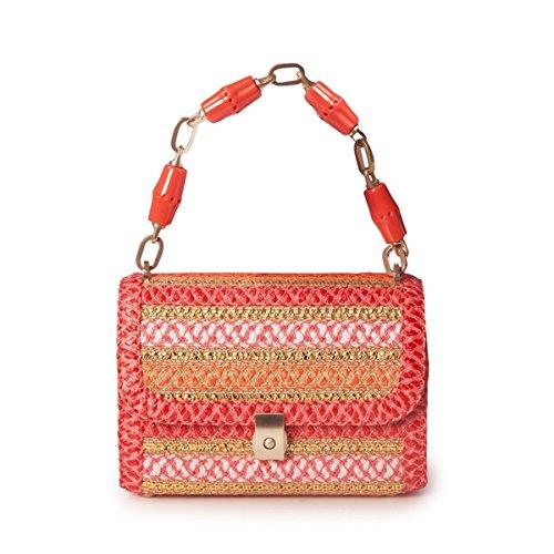 Eric Javits Luxury Fashion Designer Women's Handbag – St. Barths – CoralMix