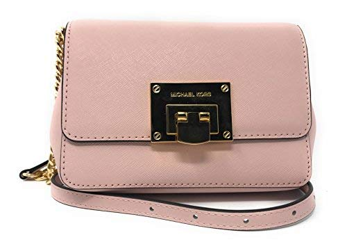 Michael Kors Tina Small Leather Clutch Crossbody Bag in Blossom