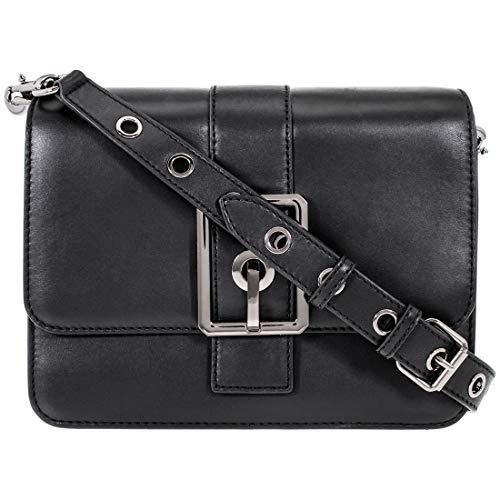 Rebecca Minkoff Hook Up Ladies Small Black Leather Shoulder Bag HSP7GHUX24-001