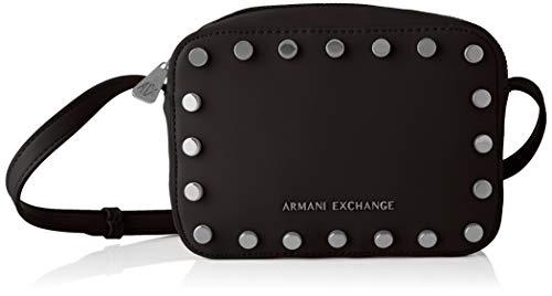 A|X Armani Exchange Women's Fashion Small Crossbody, nero – black 32