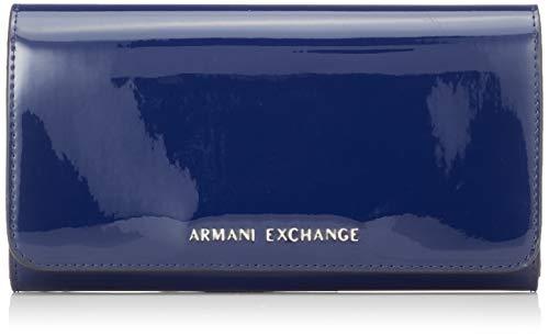 A X Armani Exchange Wallet, Navy 214