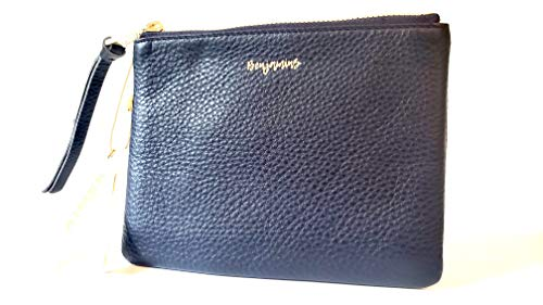 Aimee Kestenberg Dubai Leather Pouch Phrase Benjamins Royal Navy