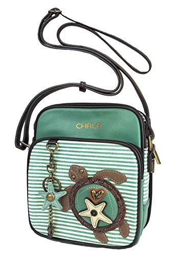 Chala Sea Turtle Organizer Crossbody Handbag – Turtle Lovers Gift