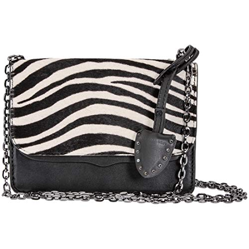 Rebecca Minkoff Mini Chain Ladies Small Two Tone Leather Crossbody Bag HF17GCZX48-001