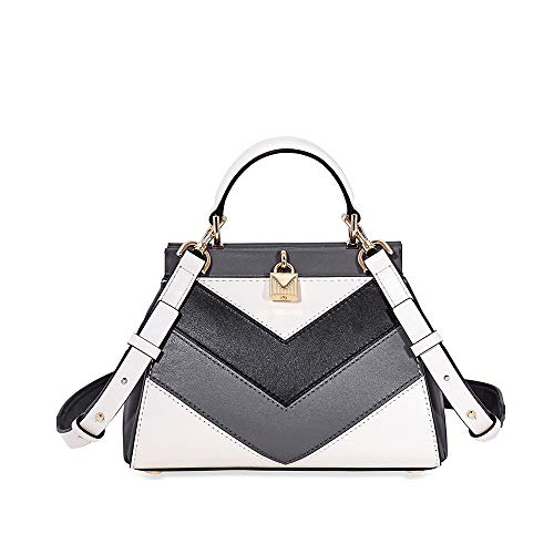 Michael Kors Grammercy Frame Small Th Leather Satchel