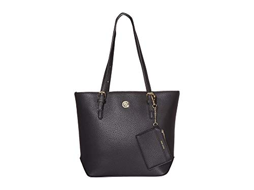 Anne Klein Lily Tote Pebbled Black One Size