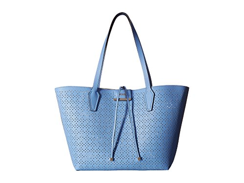 GUESS Women's Bobbi Inside Out Tote Blueberry Nude One Size