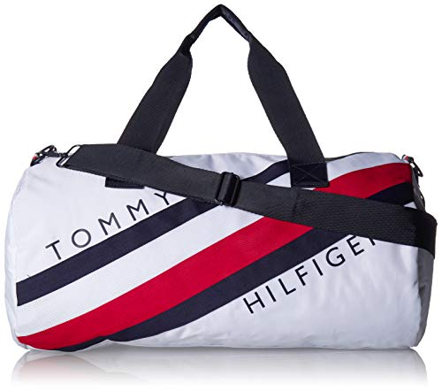 Tommy Hilfiger Duffle Bag Stride Sport Harbor Point, Bright White
