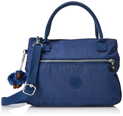 Kipling Sevrine, Women's Shoulder Bag, Blau (Jazzy Blue), 11.5x32x22.5 cm (B x H T)