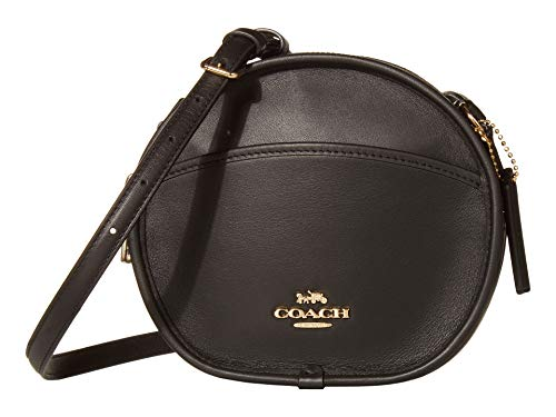 COACH Smooth Leather Canteen IM/Black One Size
