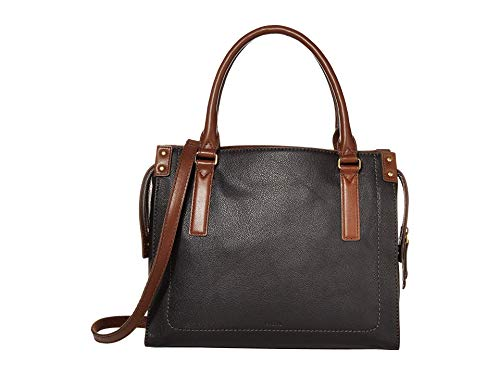 Fossil Claire Satchel Black One Size