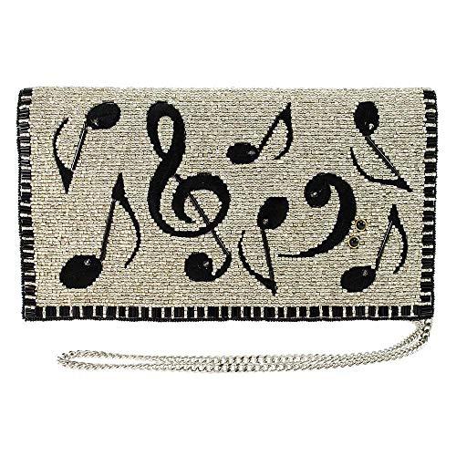 Mary Frances Crossbody Bag, Silver