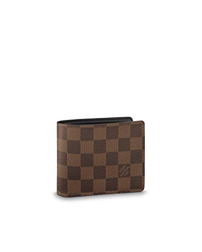 Louis Vuitton Damier Ebene Canvas Multiple Wallet N60895