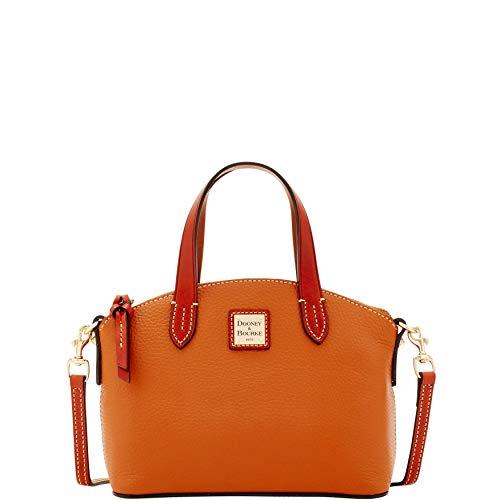 Dooney & Bourke Pebble Grain Ruby Top Handle Bag