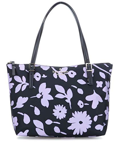 Kate Spade Watson Lane Ladies Large Parisian Navy Multi Canvas Tote Bag PXRUA463947