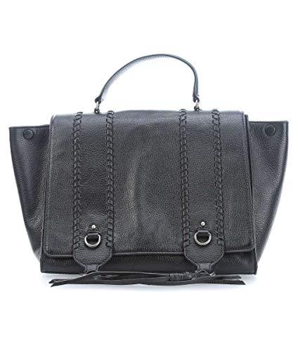 Rebecca Minkoff 2WAY Back Ladies Large Black Leather Shoulder Bag HF17FPGS85-001