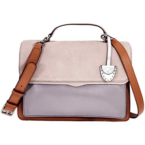 Rebecca Minkoff Top Handle Ladies Medium Grey Leather Shoulder Bag XF17FCBD24-020