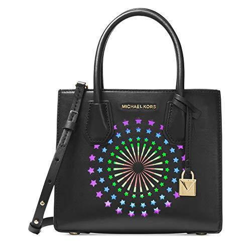 Michael Kors Mercer Ladies Medium Leather Crossbody Handbag 30H7MM9M2O001