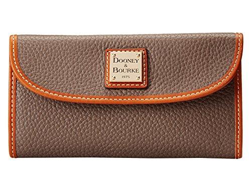 Dooney & Bourke Woman Pebble Continental Clutch (Elephant)