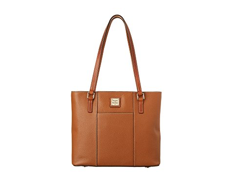 Dooney & Bourke Pebble Small Lexington Shopper  Caramel