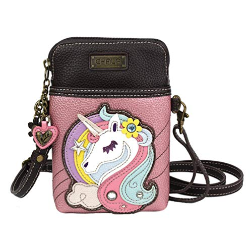 Chala Handbags Unicorn Cellphone Crossbody Handbag – Unicorn Lover Collector