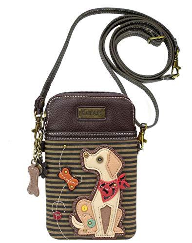 Chala Yellow Lab Cellphone Crossbody Handbag – Labrador Gift Lab Mom