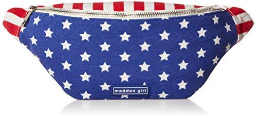Madden Girl Belt Bag, Red White Blue