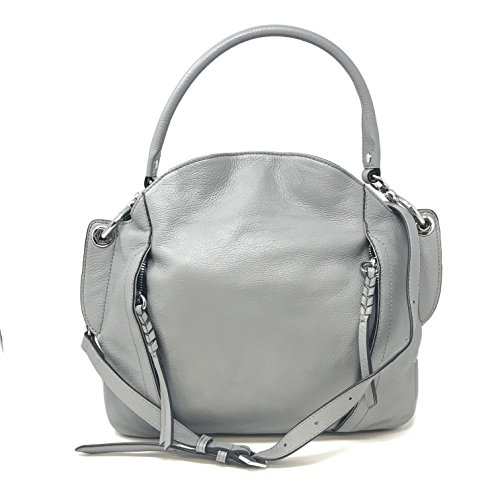 "orYANY""Danielle"" A26581706 Italian Leather Convertible Grey Ladies Shoulder Bag"