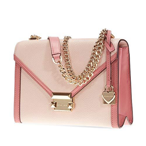 Michael Kors Whitney Large Flap Shoulder Bag- Soft Pink/Multi