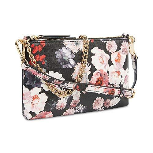 Nine West Floral Print Pouchette Crossbody Shoulder Bag