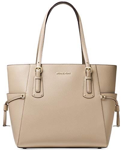 Michael Kors Textured Leather Tote- Oat