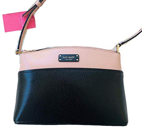 Jeanne Crossbody Leather Bag Black Warm Vellum