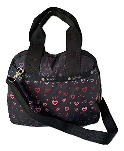 LeSportsac Heart Beat Amelia Convertible Crossbody & Top Handle Tote Handbag, Style 3354/Color D995