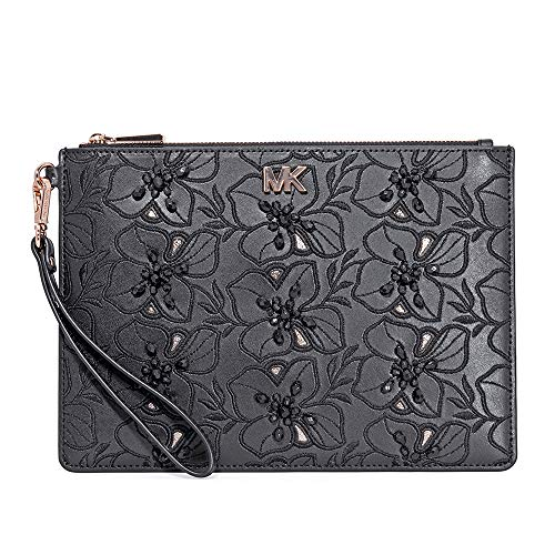 Michael Kors Medium Zip Pouch- Black