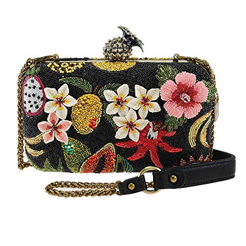 Mary Frances Fruitful Life Beaded Crossbody Handbag