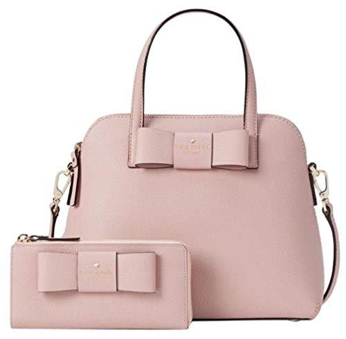 Kate Spade Robinson Street Maise and Nisha Shoulder Bag and Wallet Set Dusty Pink Granite